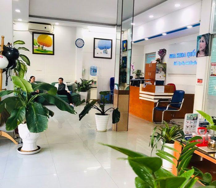 Phòng chờ Nha khoa Quốc tế